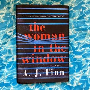 The Woman in the Window by AJ Finn Hardcover Book